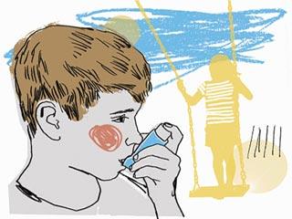 अस्थमा पीडि़त बच्चों को स्कूल में होने वाली दिक्कतें