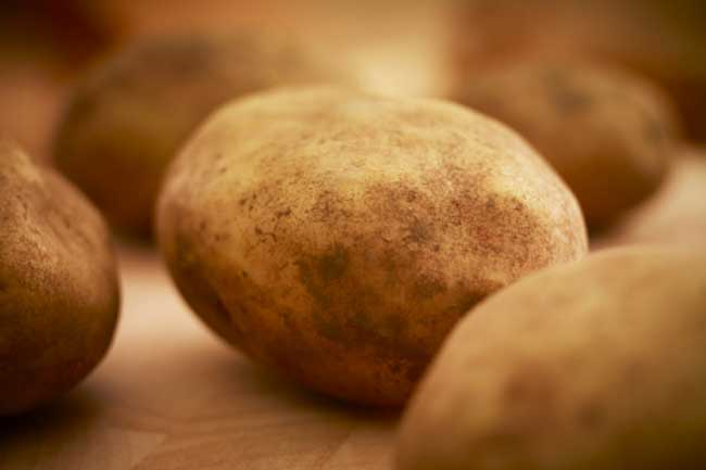 Use raw potato