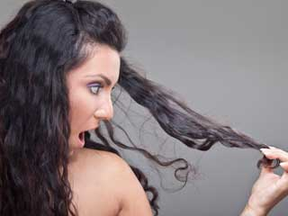 Internal and external causes of hair breakage