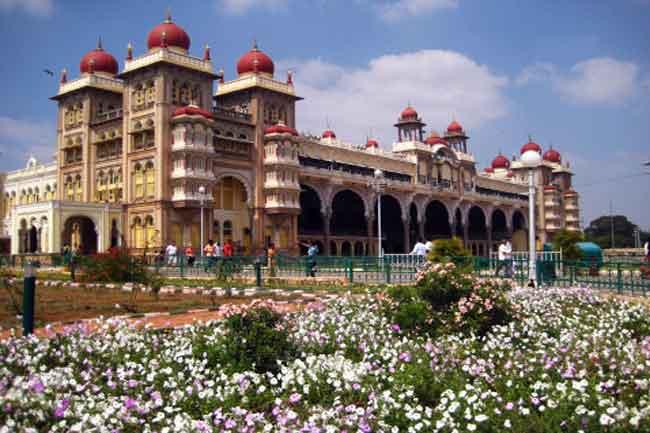 The royal city of Mysore