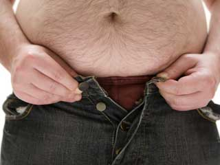 How to lose weight around the groin