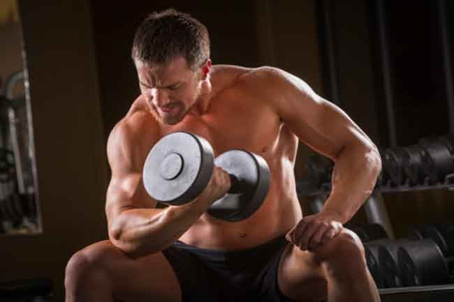 मांसपेशियों पर ज्यादा तनाव डालना