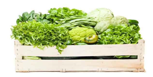 green vegetable in hindi
