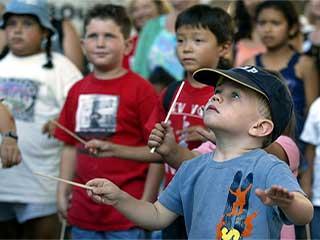 मानसिक विकलांग बच्चों के लिए संगीत थेरेपी