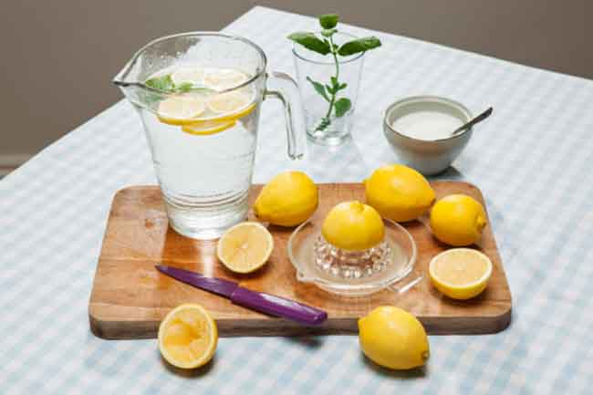 Lemon, Sugar and Water