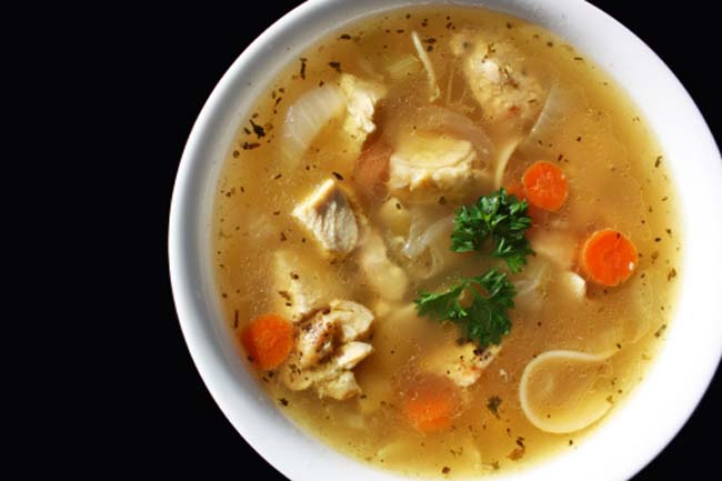 गर्म सूप