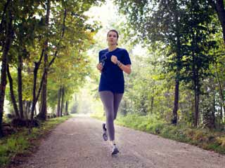 Slow and steady wins the race:Jog slow to live long