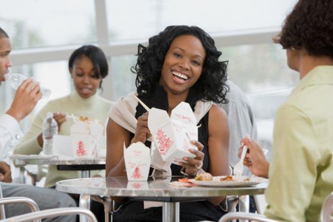 सहकर्मियों की खाने की आदतें
