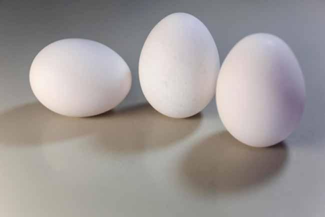 अंडा और धनिया