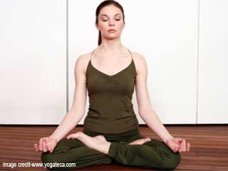 गर्भवती महिलाओं के लिए योग - पद्मासन