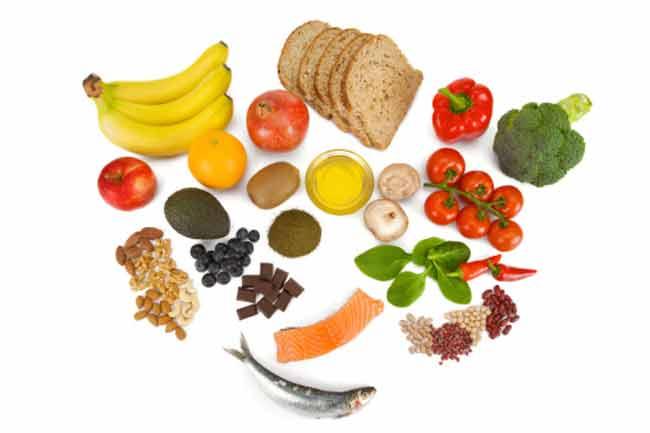 एंटीऑक्सीडेंट से भरपूर आहार