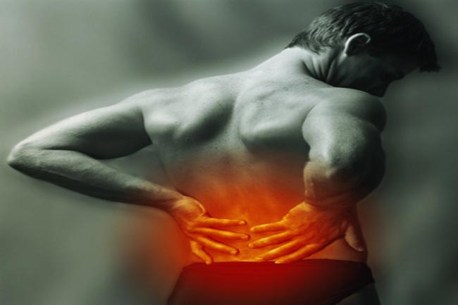 पीठ में दर्द होना