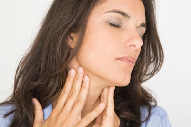Discomfort in the Throat, Neck or Jaw