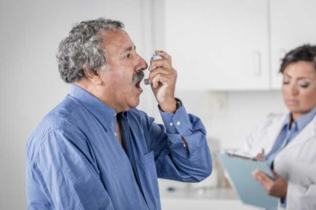 Breathlessness due to Respiratory Problems