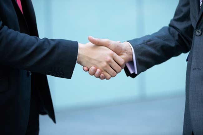 Infectious Handshakes