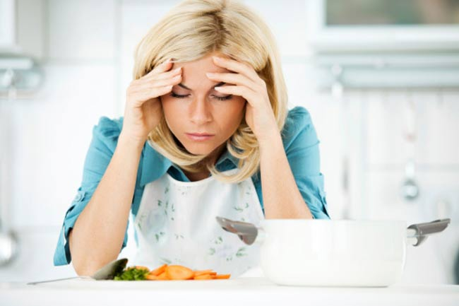 Cooking when you are Sick