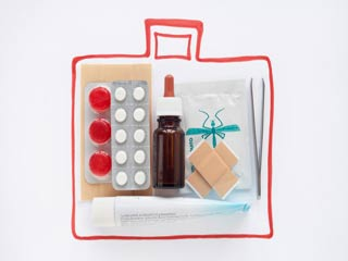 What to have in your first aid cabinet