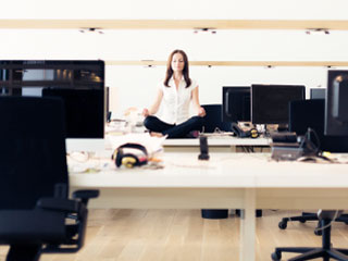 Make your Workplace a Healthier Spot, Do Office Yoga