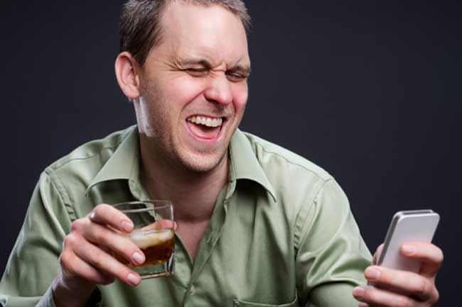 Making Fake Drunk Calls