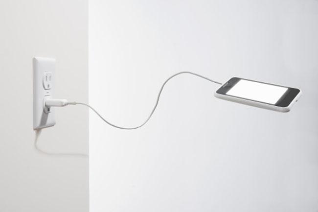 Drain phone's battery