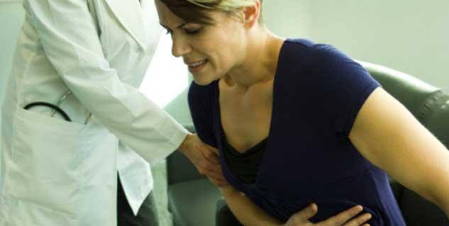 Ovarian cyst symptom