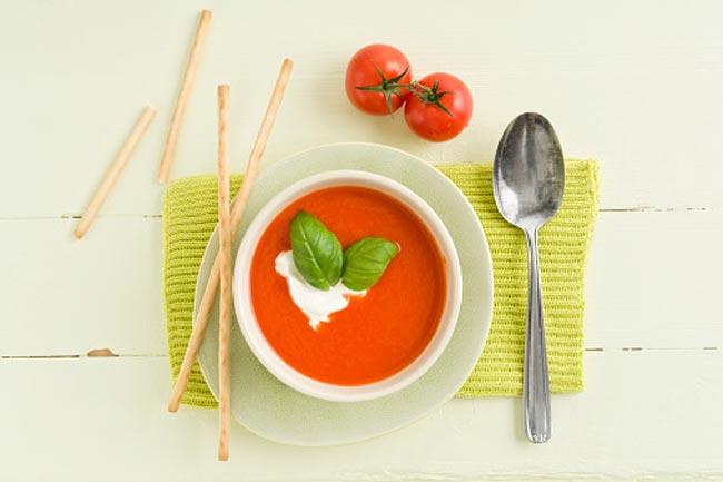 1 कप टमाटर का सूप