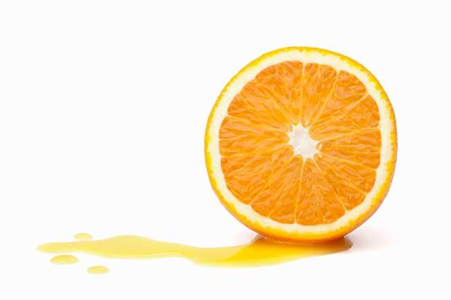 संतरा और ब्रेस्ट