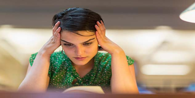 stress in hindi