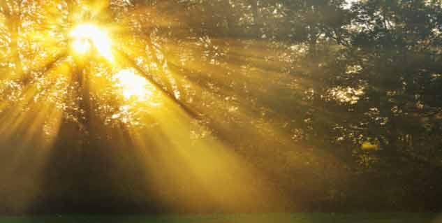 sun rays in hindi