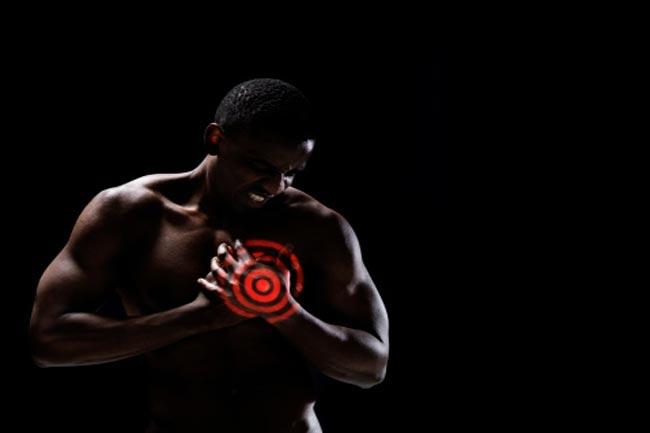 व्यायाम के दौरान हृदयघात के लक्षण