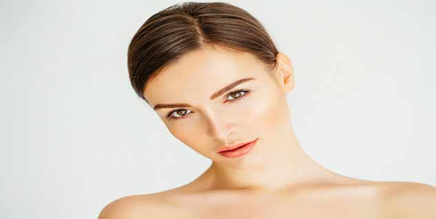 healthy skin in hindi