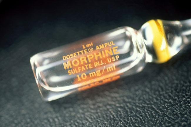 मोर्फिन (morphine)
