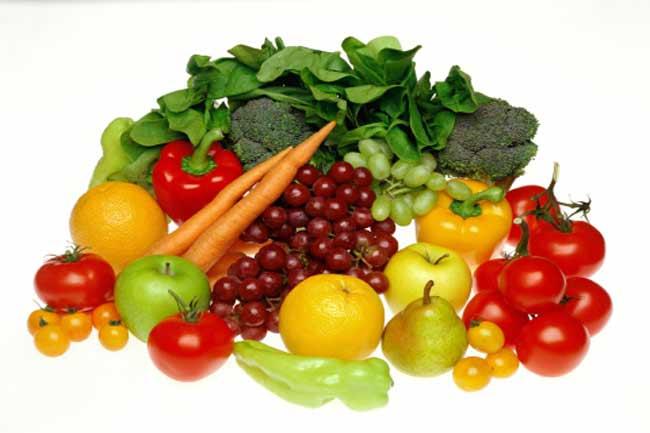 फल व सब्जियां