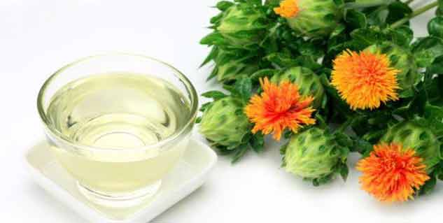safflower oil in hindi