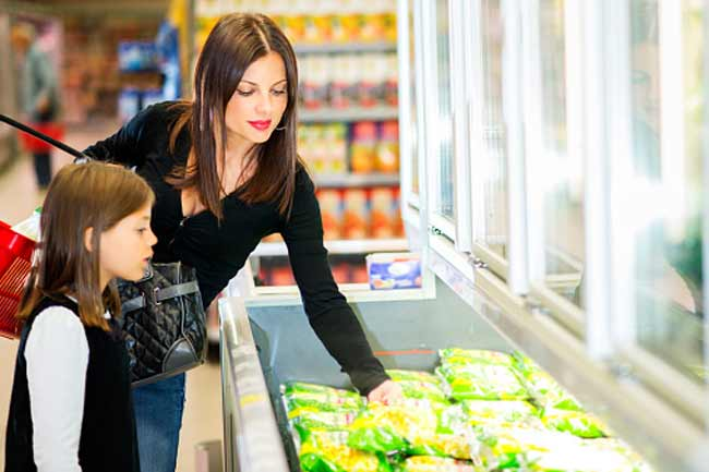 Is the frozen foods aisle your popular spot?