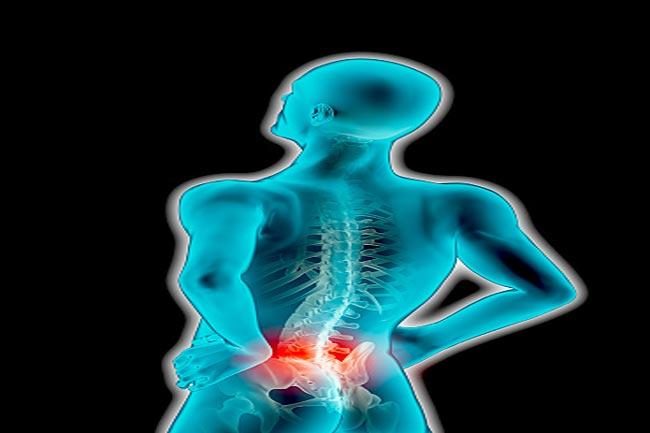 कमजोर रीढ़ के लक्षण क्या हैं?