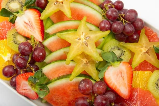 Have fruit for dessert