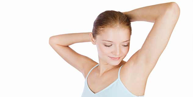 how to get smooth armpits