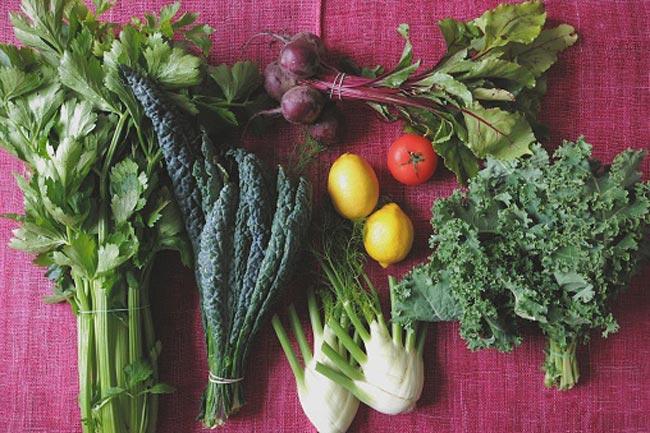 ताज़ी और हरी सब्जी न खाना