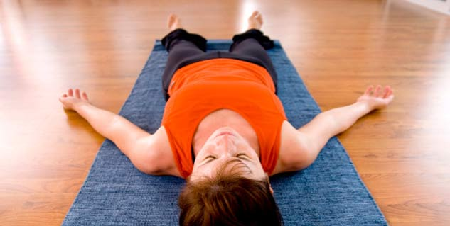 Savasana in Hindi
