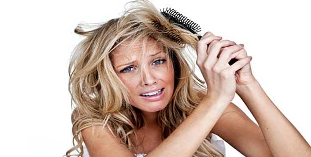Knotty hair