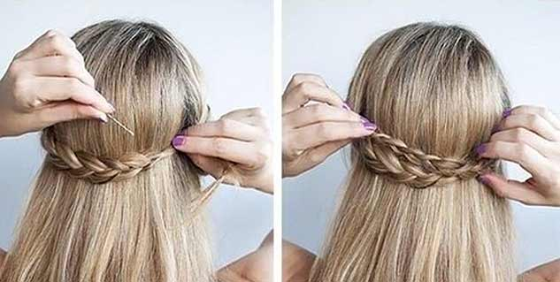lazy girl hair style tips