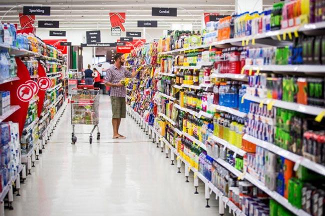 सुपरमार्केट मे मिलने वाले फूड