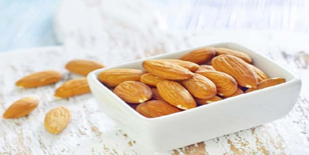 Almonds for weight lose in Telugu