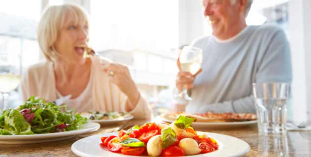 health my life at age 70 Learn how you, as a senior, can add exercise and eating more fiber to your daily health habits.