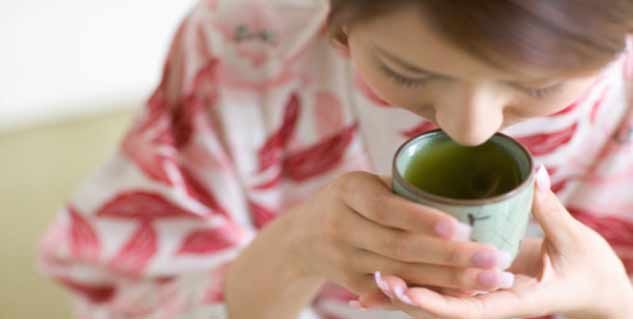green tea is bad in hindi