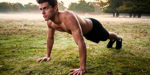 Weight gain exercise for men