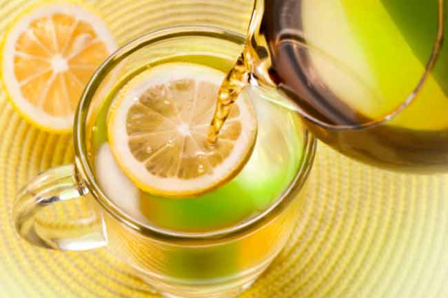 Drink Warm Water and Lemon
