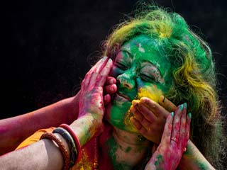 Remove Holi Colour The Natural Way