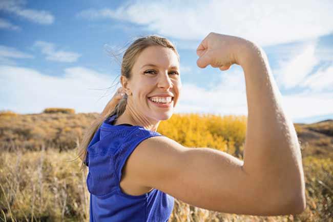 मांसपेशियों में मजबूती